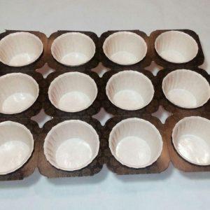کپسول کاپ کیک 12 تایی مخصوص انواع مافین و دسر
