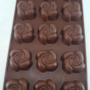 قالب سیلیکونی شکلاتی مخصوص پاستیل، شکلات و شیرینی های ریز