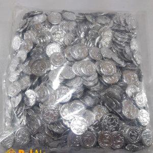 سکه عروسی بسته 250 گرمی جهت استفاده در مراسم های عروسی