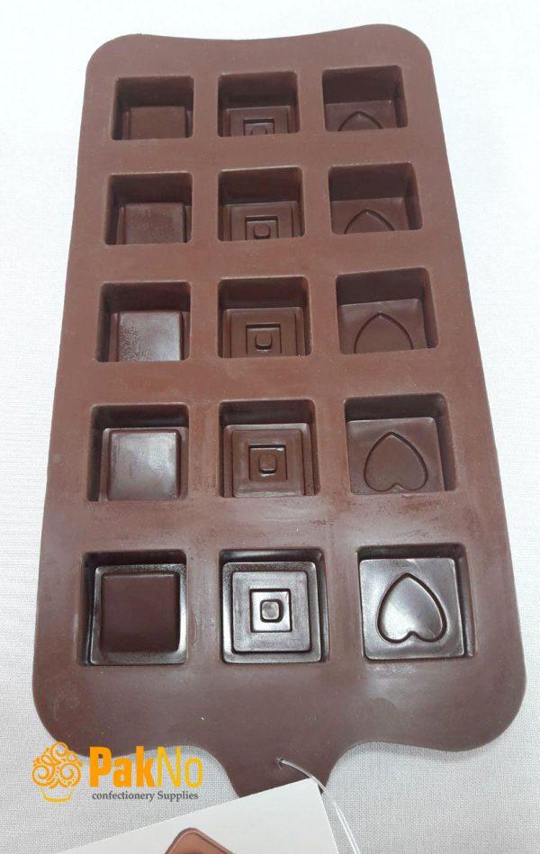 قالب سیلیکونی شکلاتی مخصوص پاستیل و شکلات و شیرینی های ریز