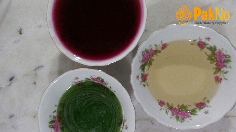 ژله های مایع آلبالو طالبی و آلوورا برای ژله هندوانه ای