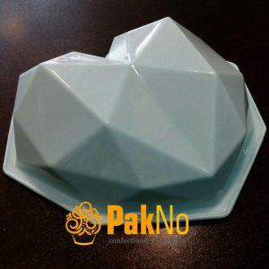 قالب ژله قلب هندسی مناسب برای ژله و دسر و ...