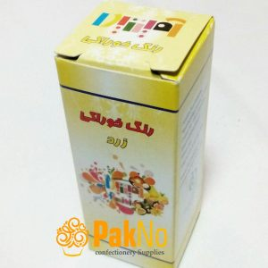 رنگ خوراکی قطره ای زرد 50 گرمی مناسب برای رنگ کردن کیک