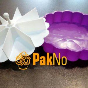 قالب زله پلاستیکی دوکاره چیز کیک مناسب برای آماده کردن چیز کیک ترامیسو
