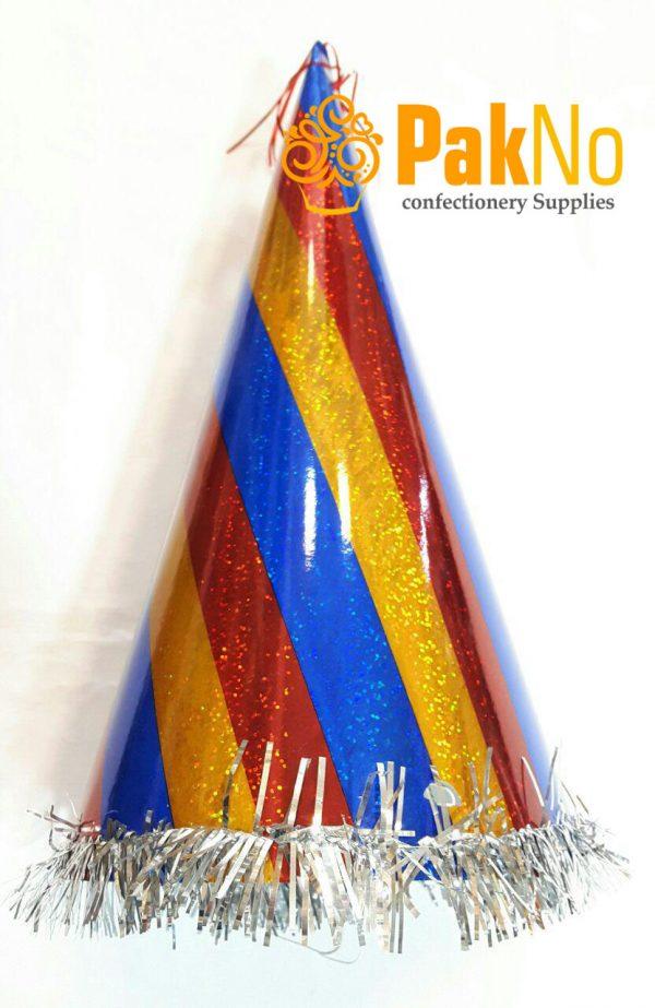 کلاه تولد شیپوری لیزری بلند مورد استفاده در تولد کودکان