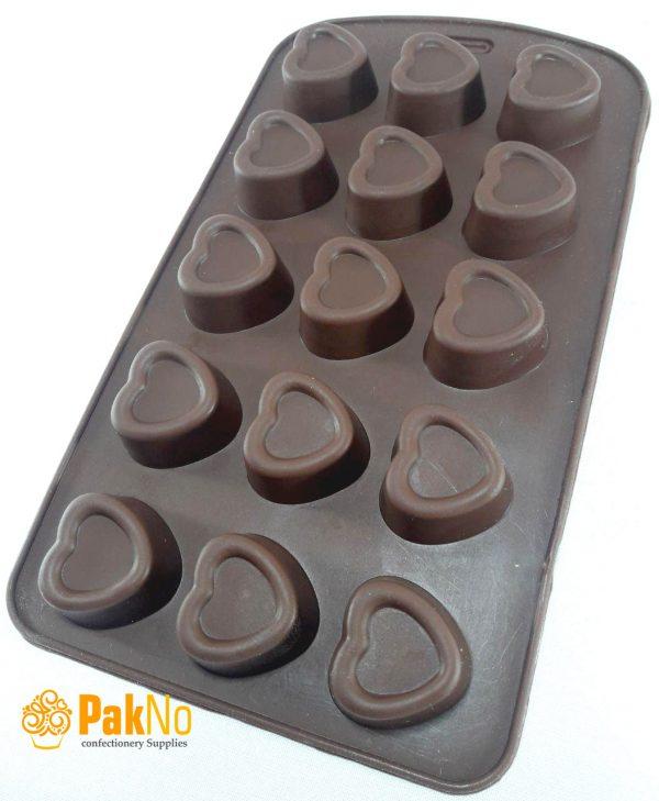 قالب سیلیکونی شکلاتی مخصوص پاستیل ،شکلات و شیرینی های ریز خانگی
