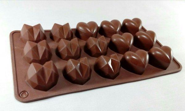 قالب سیلیکونی شکلاتی