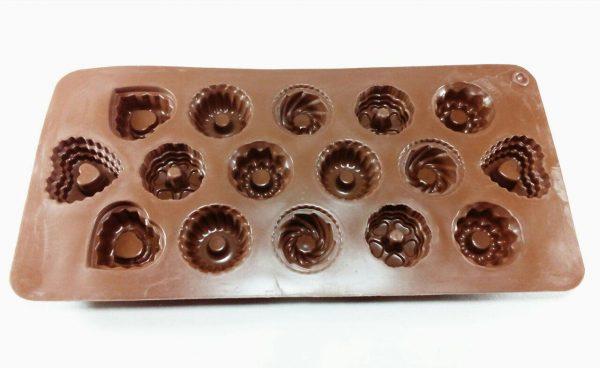 قالب سیلیکونی شکلات مخصوص شکلات و پاستیل