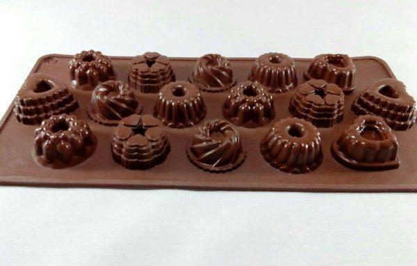 قالب سیلیکونی شکلاتی مخصوص شکلات و پاستیل