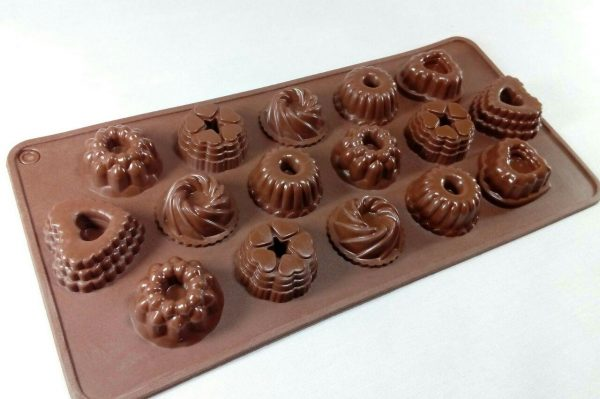 قالب سیلیکونی شکلاتی مخصوص پاستیل و شکلات