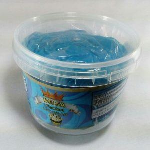 خمیر فوندانت 500گرمی آبی رنگ مخصوص تزیین کیک
