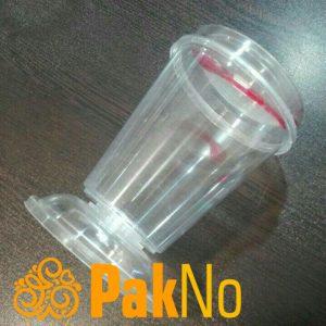 لیوان پلاستیکی بستنی
