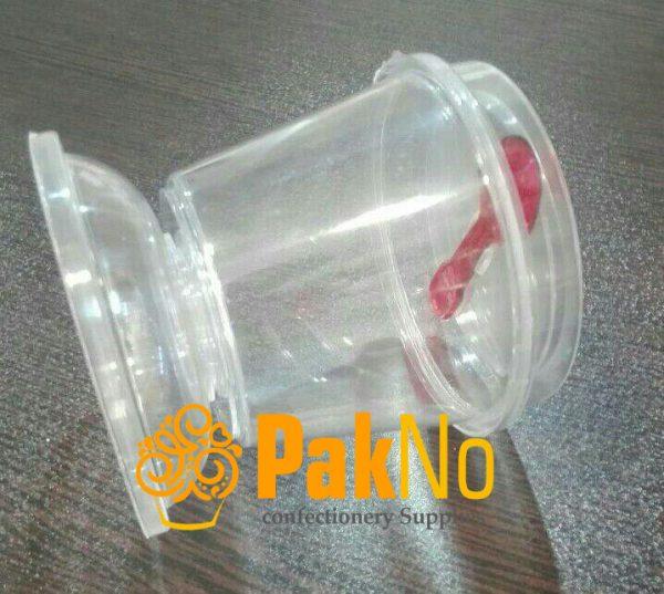 لیوان پایه دار پلاستیکی