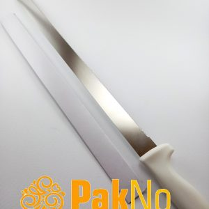 چاقو برش کیک دسته سفید